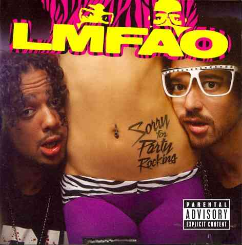 SORRY FOR PARTY ROCKING BY LMFAO (CD)