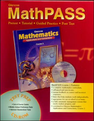 McGraw-Hill/Glencoe Mathematics: Applications and Connections, Course 3, Mathpass Tutorial CD-ROM Win/Mac by McGraw-Hill [Digital Format] at Sears.com